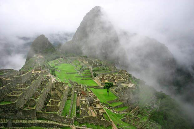 Древний город инков Мачу Пикчу красота, путешествия, фото