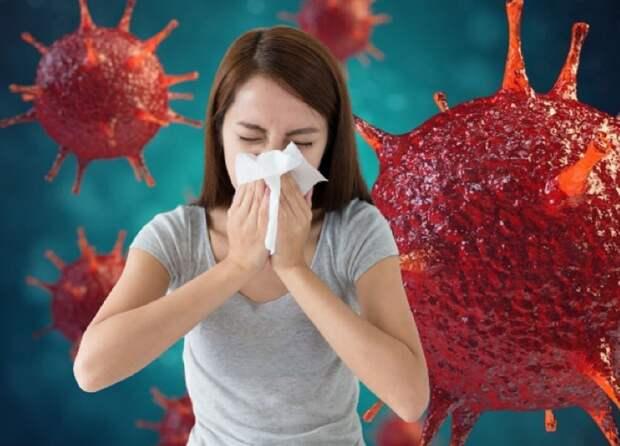 Эпидемиолог Дубинин назвал главные отличия симптомов при COVID-19 и гриппе