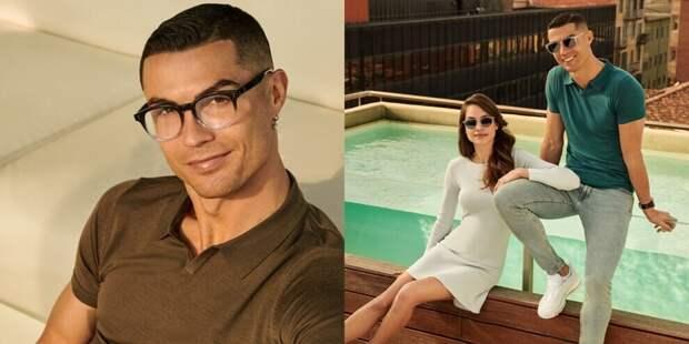 Роналду представил новую коллекцию очков CR7 eyewear