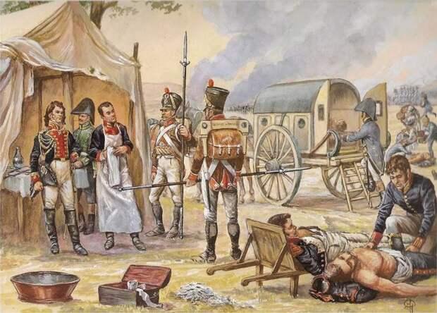 Медицинская служба Великой армии Наполеона: летучие амбулансы