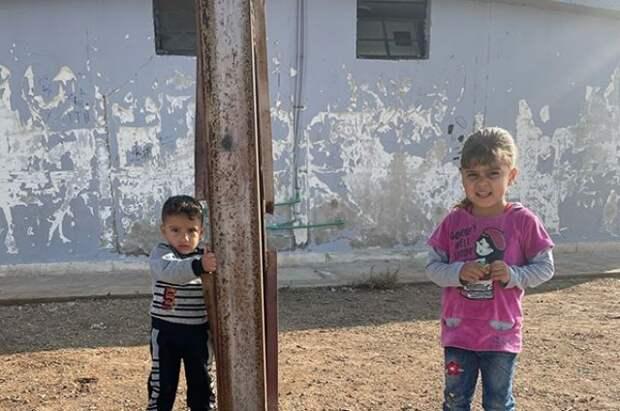 Россия призывает мировое сообщество спасти детей из лагеря Эль-Холь в Сирии
