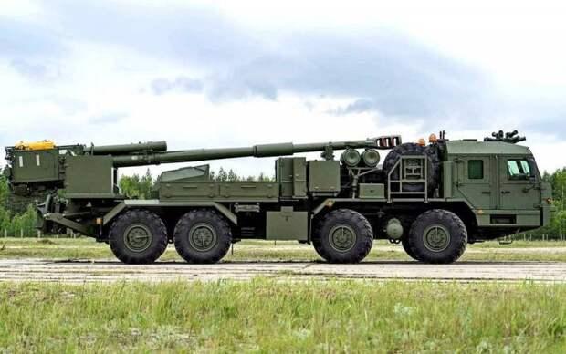 На Украине оценили появление в России новой САУ «Мальва»