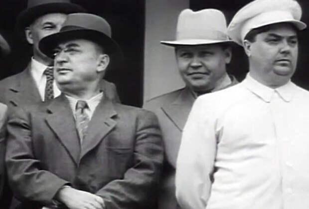 Лаврентий Берия, Николай Вознесенский и Георгий Маленков
