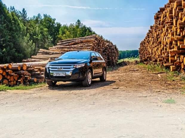 Тест Ford Edge: простота по-американски