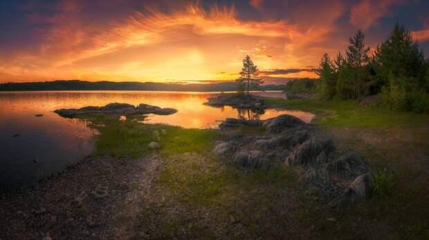 Красивые пейзажи Ole Henrik Skjelstad