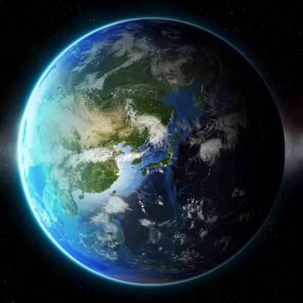 Красивая  планета Земля.