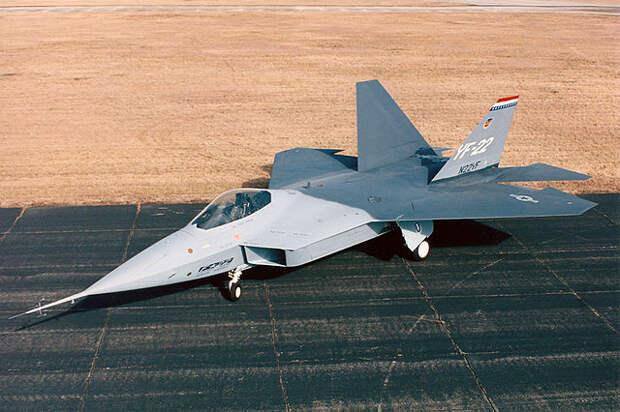 Пара слов о F-22