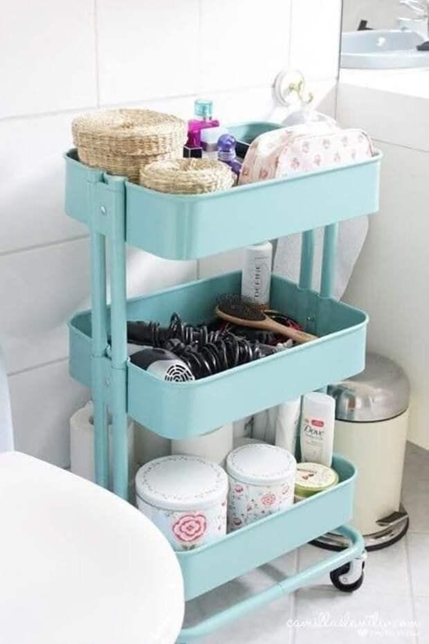 10 идей для обустройства маленькой ванной комнаты