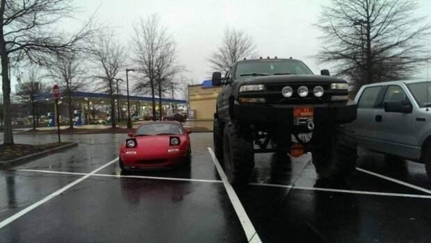 Автомобильные прикольности