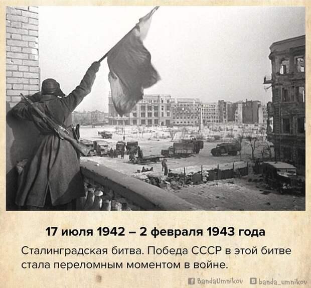 10 событий Великой Отечественной войны,