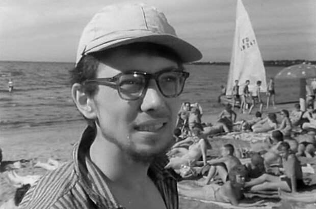 Олег Даль в фильме «Мой младший брат», 1962 г.