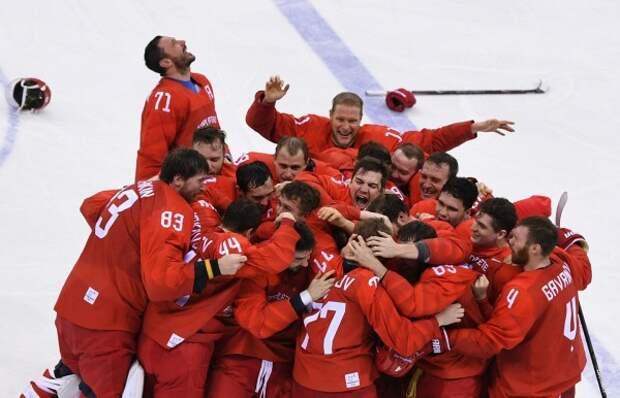 На Олимпиаде в Пхёнчхане зазвучал гимн России