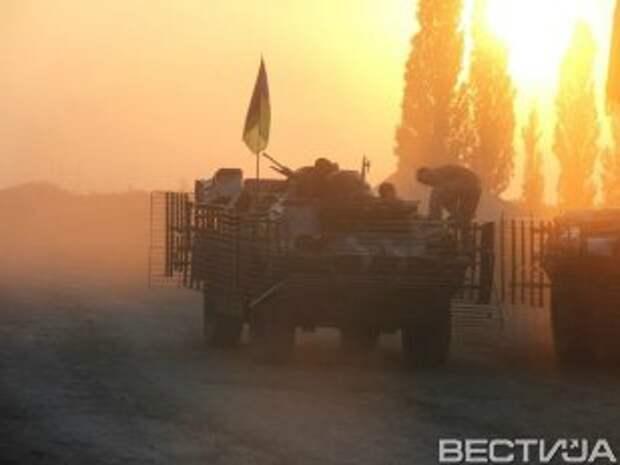 Террористы обстреляли аэропорт Донецка из БМ-21 «Град»