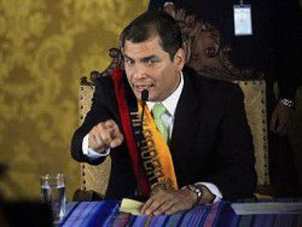 Эквадор: полицейские получили 12 лет за покушение на президента