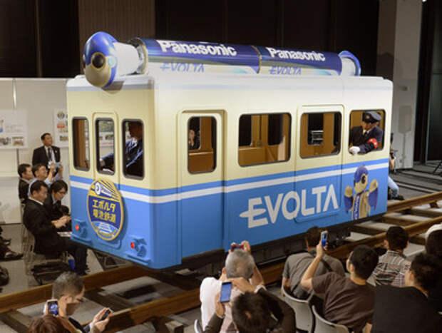 Японцы запускают поезд на батарейках
