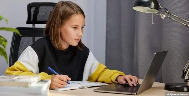 Сергунина отметила высокий уровень подготовки учеников детских технопарков Москвы. Фото: М.Денисов, mos.ru