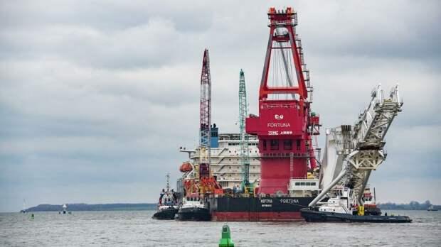 В России оценили идею приостановить прокладку «Северного потока — 2»