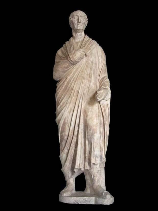 Гай Марий умер, но дело его ещё жило. Скульптура Мария I в. до н.э.