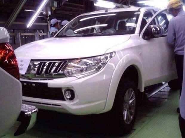 Рассекречена внешность нового пикапа Mitsubishi L200