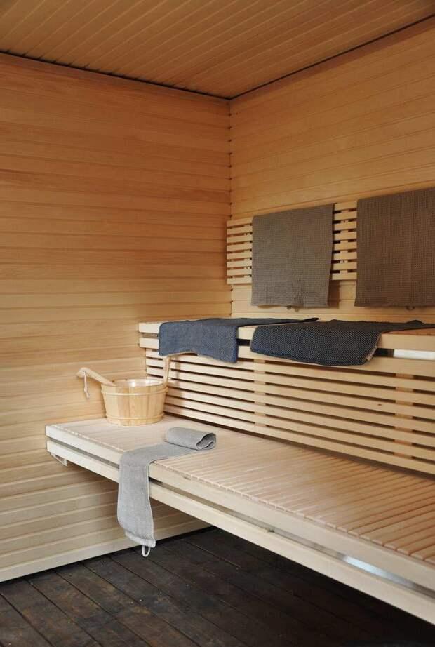 Мебель для бани: как придать оформлению шик (27 фото)