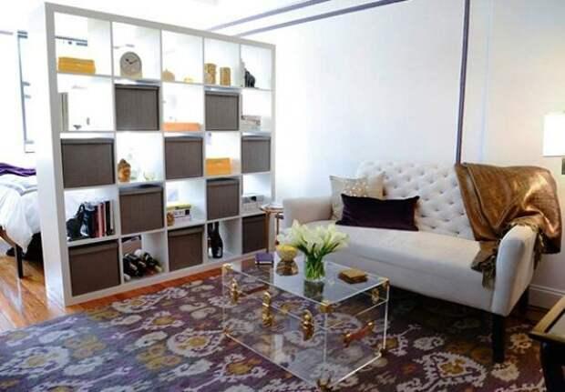 Чем разделить комнату на две зоны: идеи дизайна и варианты зонирования