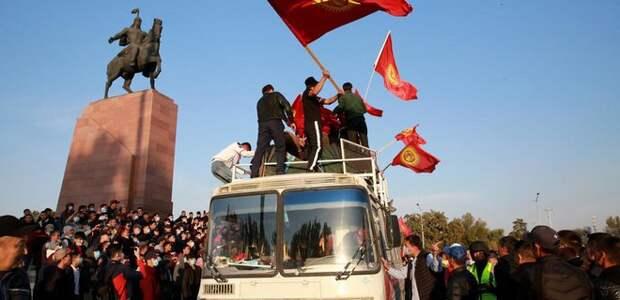 Госперевороты в Кыргызстане: рейдерский захват власти
