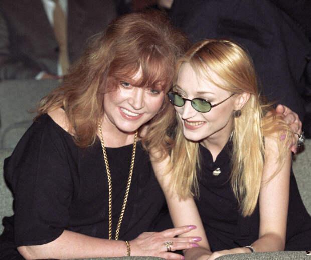 С Кристиной в 1999 г.