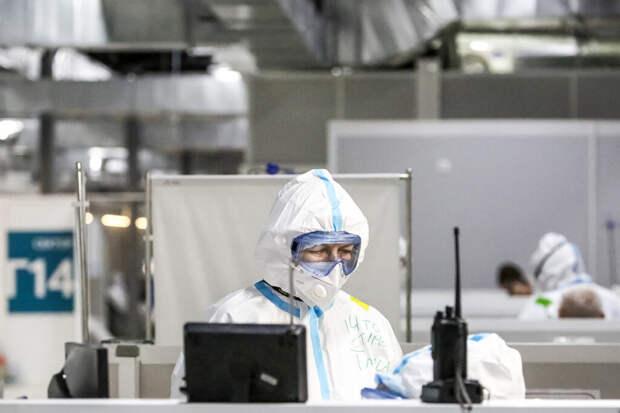 В России за сутки выявили 25776 заражённых COVID-19
