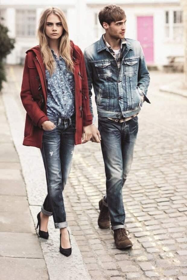 Лучшие джинсы-бойфренды можно обнаружить как раз у своего бойфренда в шкафу — оригинальные мужские джинсы действительно сидят лучше