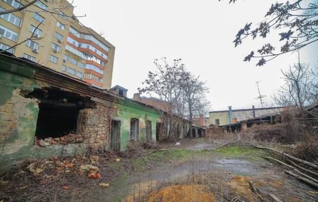 Вместо свалки на Пушкинской появится элитный дом в стиле старого Ростова