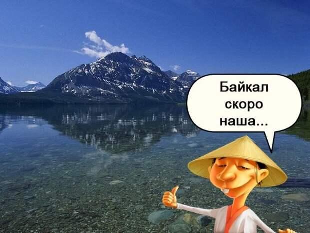 Но вообще, они не сильно мешают. Так что я бы всем советовал вместо моря на Байкал съездить! Листвянка, байкал, китайцы, отдых, ржач, туризм, юмор