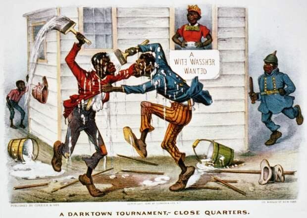 Дарктаунский рыцарский турнир - рукопашная схватка