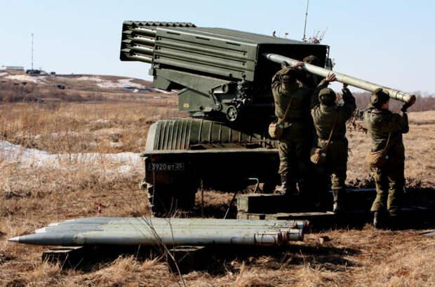 К Ростову-на-Дону переброшены воинские части с уникальными РСЗО «Торнадо-Г»