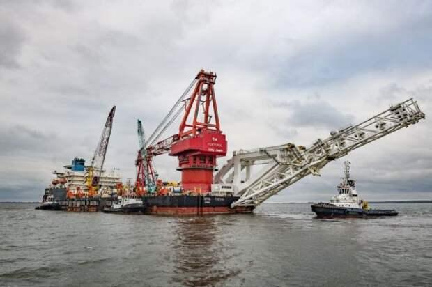 США внесли связанное с «СП – 2» судно в новый список санкций