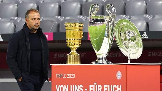 «Бавария» недовольна заявлением главного тренера Флика о желании уйти по окончании сезона