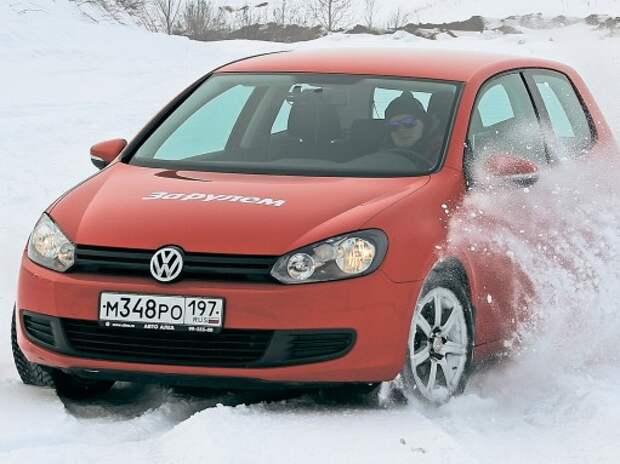 Тест зимних нешипованных шин 205/55R16: в прогнозе – снег и холод