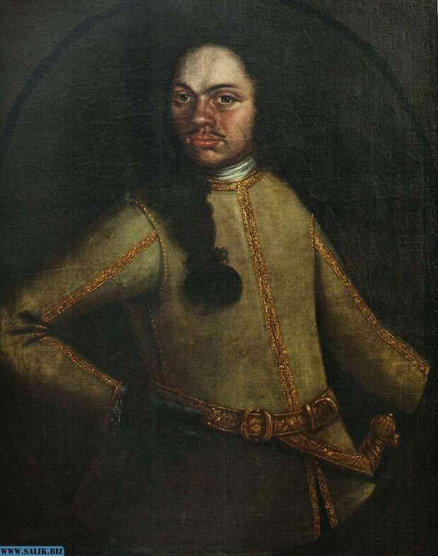 Настоящий портрет настоящего Петра I