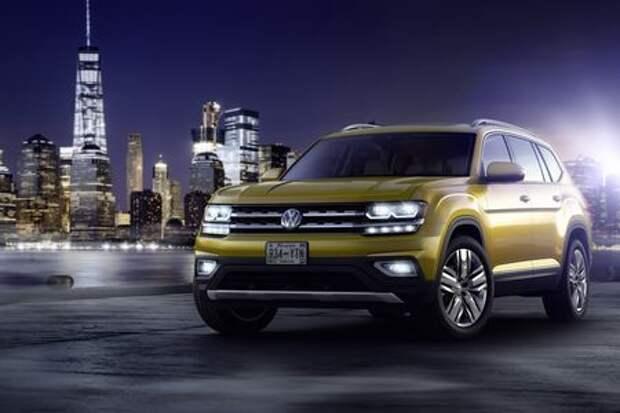 Тернистой тропой Honda: кроссовер Volkswagen Atlas превратится в пикап