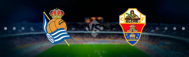 Реал Сосьедад - Эльче: Прогноз на матч 07.05.2021