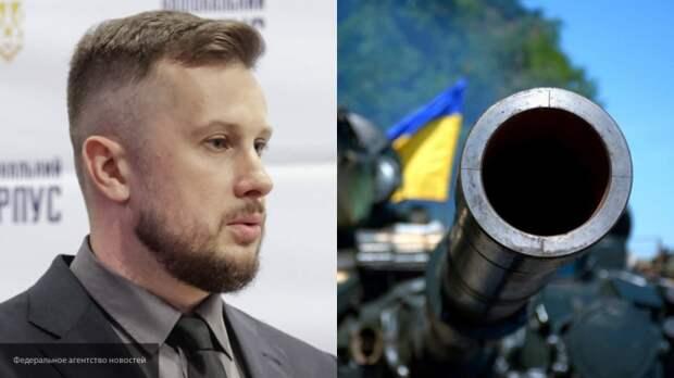 Билецкий пригрозил провести марш националистов в Донбассе и Крыму