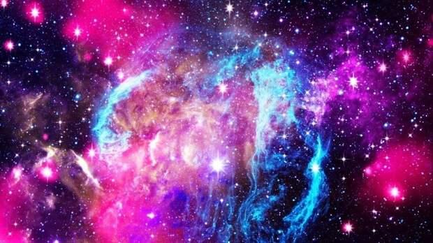 NASA показало уникальный снимок слияния галактик