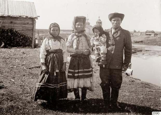 Архангельская губерния, 1910