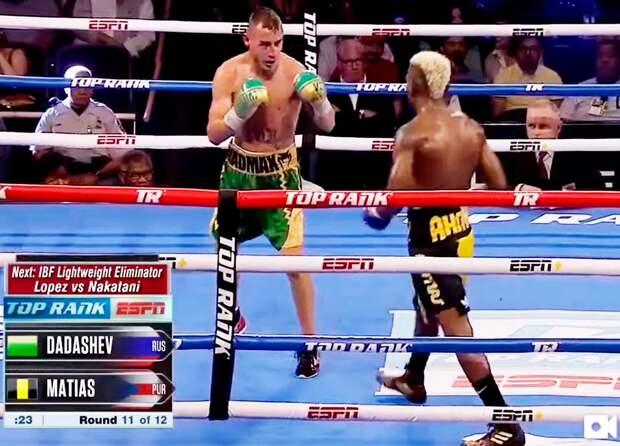 Видео боя вСША, из-за которого умер русский боксер Дадашев. Ему делали трепанацию черепа