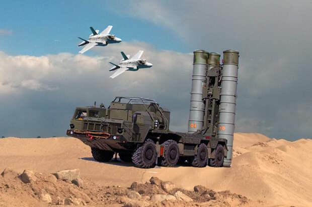 В США назвали пять условий сосуществования С-400 и F-35