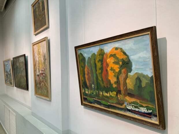 В Твери открылась художественная выставка «Диалог. Поэтика пейзажа»