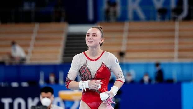 Гимнастка Ильянкова завоевала серебряную медаль на Олимпиаде