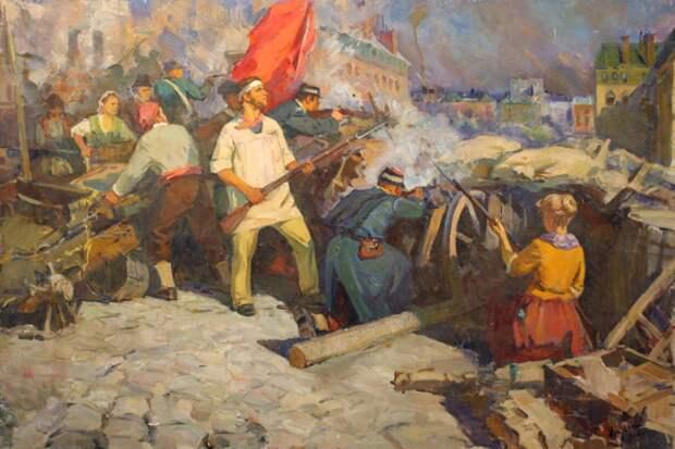 Примирение красных и белых, Парижская коммуна и эхокамеры для фанатиков