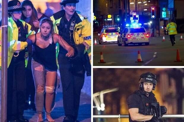 Фальшфлаг в Манчестере? Власти отреагировали на теракт неделей раньше