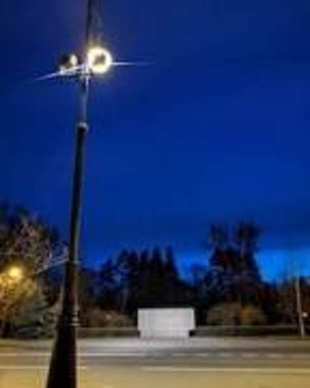 К 9 мая стела в честь основания Приморского парка Победы получила подсветку