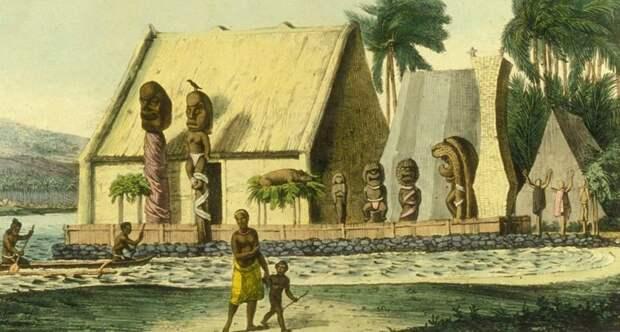 Гавайское селение
